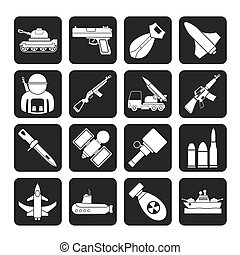 weapon and arms Icons
