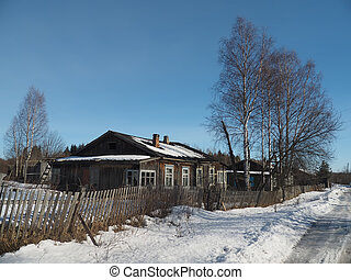 house in the village
