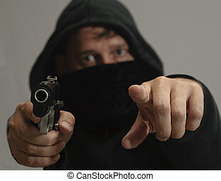 Your Security Worries - Gang member with gun