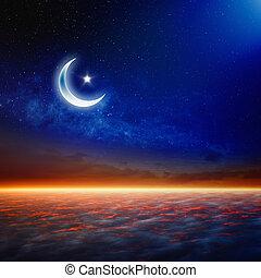 Eid Mubarak, ramazan background - Eid Mubarak background...