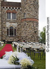 Adventist outdoor wedding - Adventist wedding in the castle...