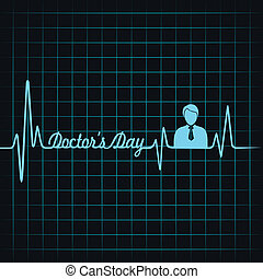 Heartbeat make doctors day text