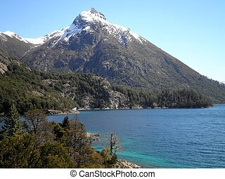 Bariloche Patagonia Argentina - Beautiful lake landscape...