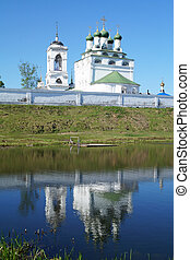 REVERENTLY-Bogoyavlenskiy male priory in Mstere...