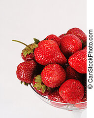 Strawberry - Photographing of fresh fruit in unusual...