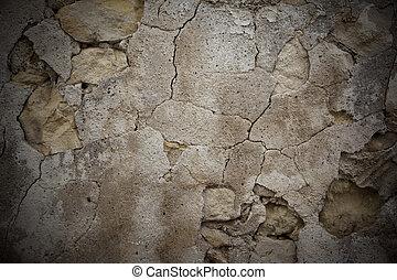 rock wall - old rock wall