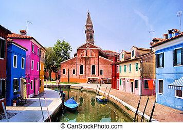 Colorful Burano, Venice