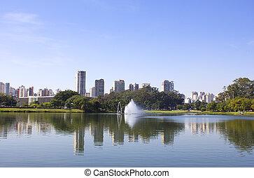 Ibirapuera Park.