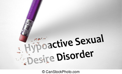 Eraser deleting the concept Hypoactive Sexual Desire...