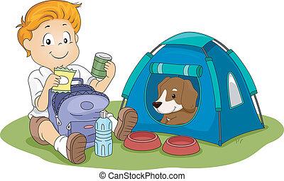 Camping Kid
