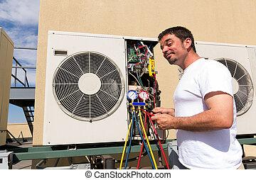 HVAC Repair Man