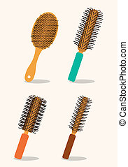 Hair saloon design over white background, vector...