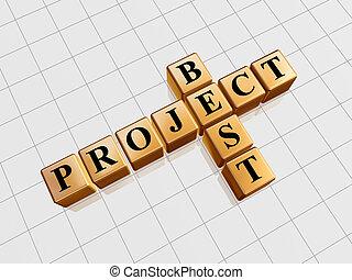 golden best project like crossword