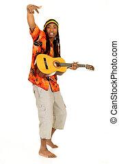 rasta, reggae, sujeito