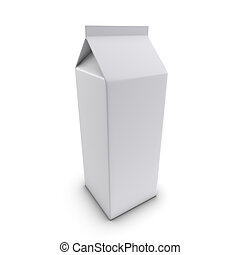 3d Blank liquid container - 3d render of a blank liquid...
