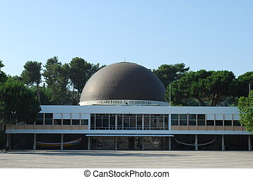 Planetarium of Calouste Gulbenkian in Lisbon - photo of the...