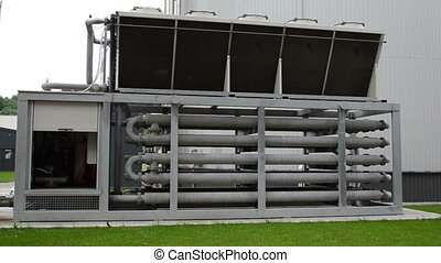 biogas generation sludge - biogas generation equipment pipes...