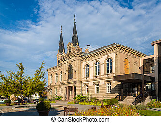 Town hall of Illkirch-Graffenstaden - Alsace, France