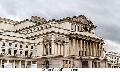 Grand Theatre - National Opera in Wasaw, Poland