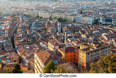 View of Nice - Cote d'Azur -  France