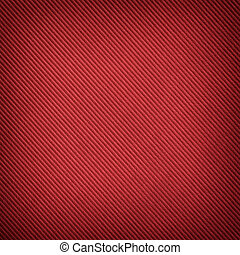 Red background with diagonal striped pattern