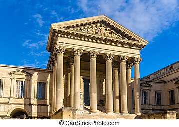 Palais de Justice in Montpellier - France