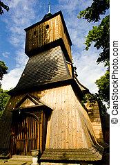 wooden church, Blizne, Poland