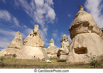 Cappadocia, Turkey - Cappadocia in Central Anatolia, Turkey