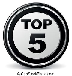 Vector top five icon