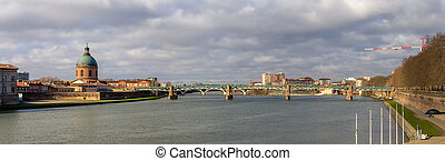 View of Toulouse - Midi-Pyrenees, France