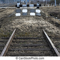 Railway impasse - Railway impasse - rails included in bulk...