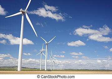 wind energy - windmills for electric power production