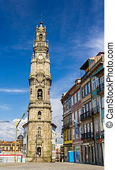 Clerigos tower in Porto - Portugal