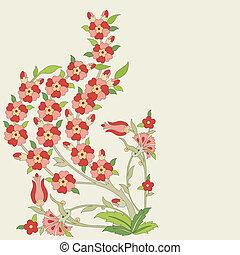 Ottoman art flowers eighteen - Versions of Ottoman...