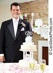 Groom at Gay Wedding