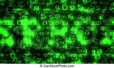 Error Text - Digital Data Matrix - Camera moving back from...