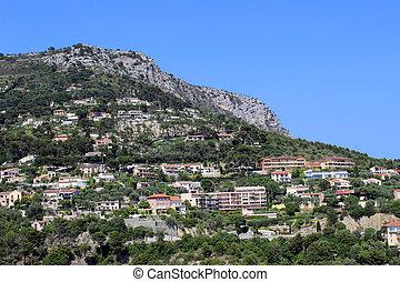 Eze-le-Village - A view of the village of Eze, France