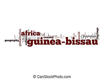 Guinea-Bissau word cloud