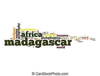 Madagascar word cloud