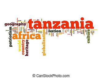 Tanzania word cloud