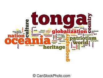 Tonga word cloud