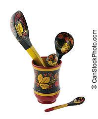 Khokhloma spoon