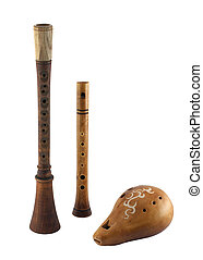 Slavic wind musical instruments
