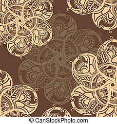 Coffee abstract background - Decorative illustration