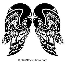 Angel wings - Tattoo wings