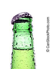 bottle isolated on white