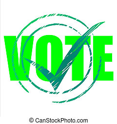 Yes Vote Indicates All Right And O.K. - Tick Yes Showing All...