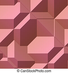 Angular geometry - Smooth angular 3d geometric abstract...