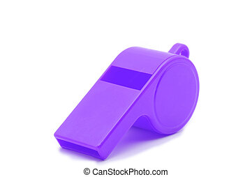 Violet Whistle - Violet plasti whistle