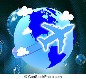 Global Flights Shows Travel Guide And Fly - Global Flights...